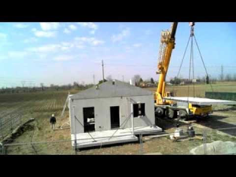 Costruzione di una casa eme ursella in 3 minuti youtube for Eme ursella