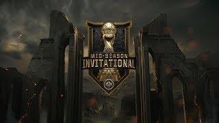 (REBROADCAST) FW vs. KZ   Semifinals   Mid-Season Invitational (2018)