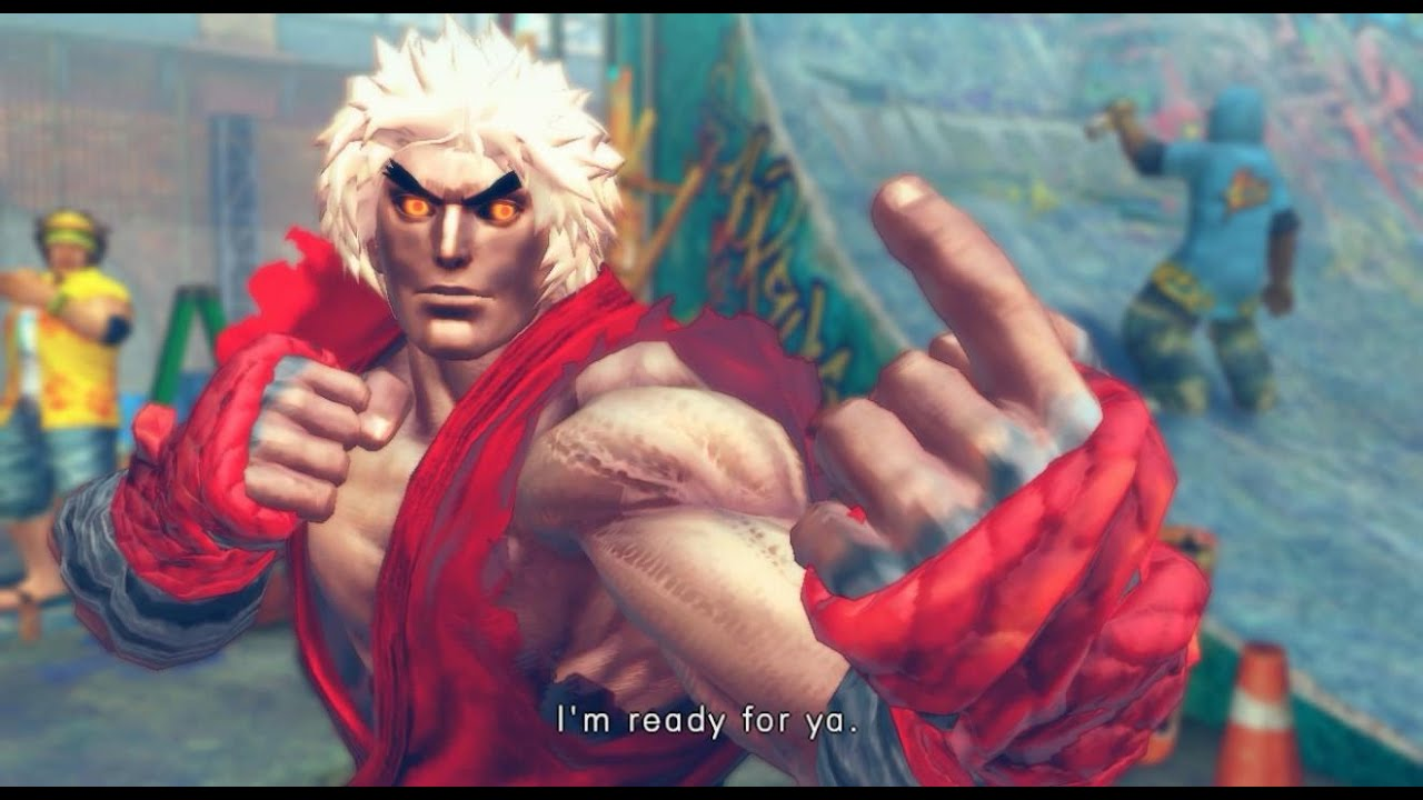 Ultra Street Fighter 4 Cyber Akuma Violent Ken By Thenasty323