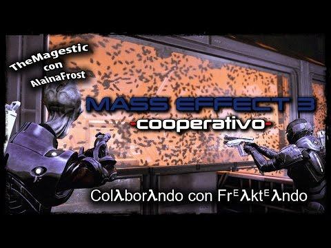 Mass Effect 3 Online Cooperativo -  Muchos Tiros y risas