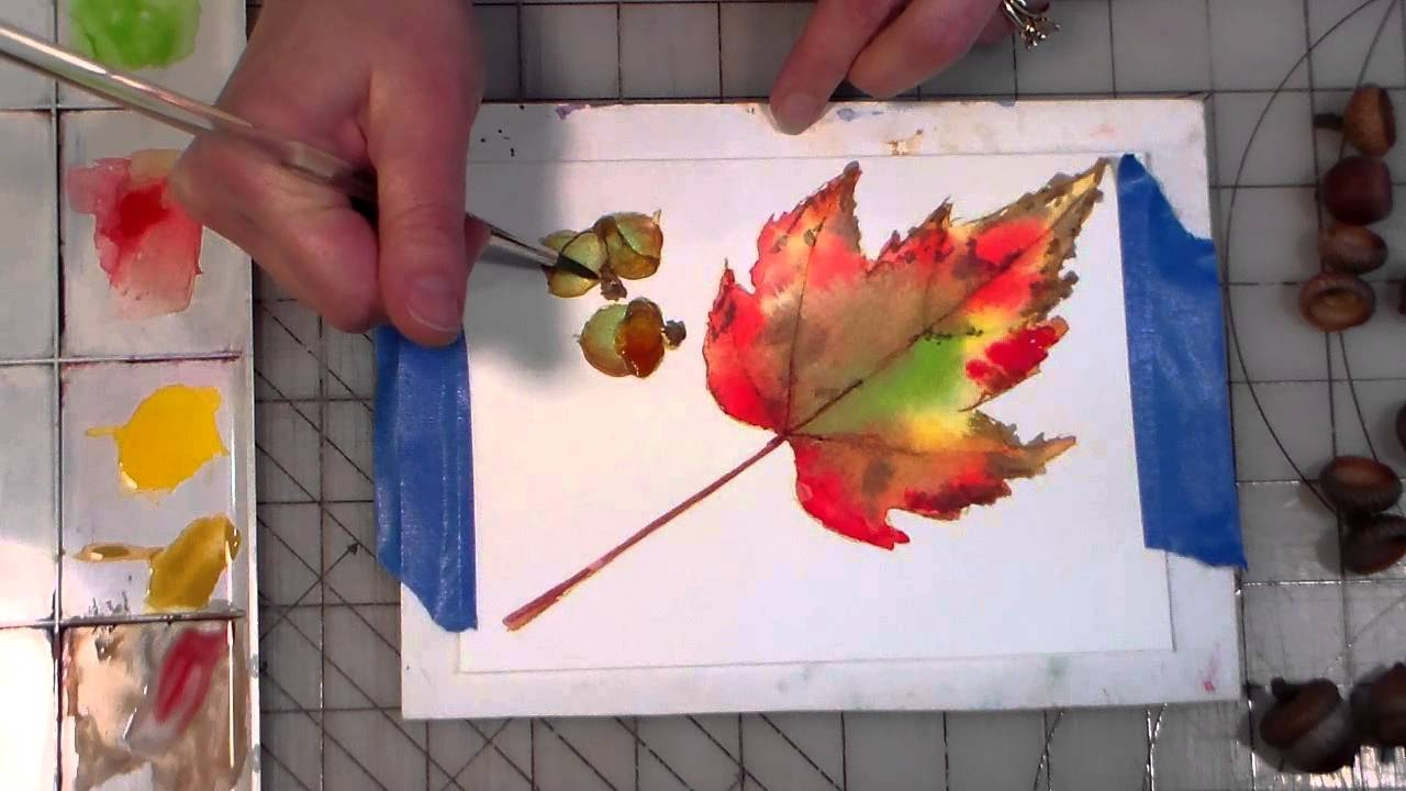 Flower Art Watercolor