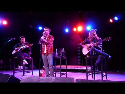 Anthony Green - Seven Years Live @ The Glasshouse Feat. Justin & Beau From Saosin