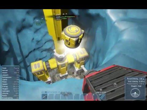 Space Engineers   REKT Showcase   Poseidon Planetary Mobile Drilling Platform part 1