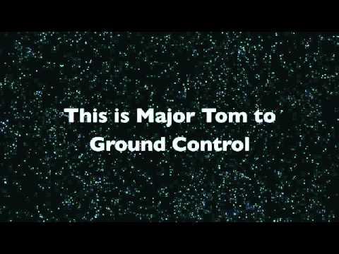 David Bowie Space Oddity  Lyrics