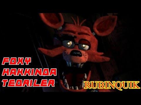 Türkçe - Five Nights at Freddy's - Foxy Hakkında 5 GİZEM - #RubinQuik