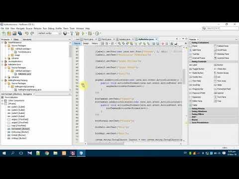 Membuat Aplikasi Kalkulator Dengan Java