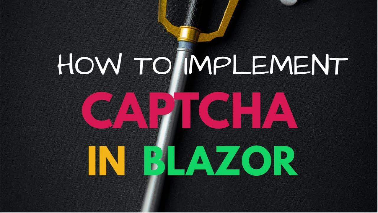 How to Generate Captcha Image in Blazor