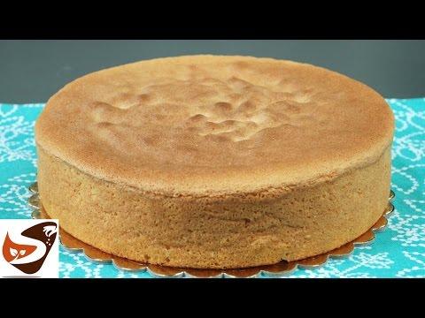 Pan di spagna alto: la ricetta classica, soffice e senza lievito - dolci  (How To Make Sponge Cake)