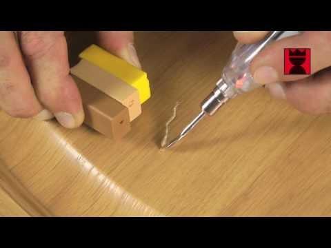 2in1 repair stick diy schnelles ausbessern an holz m bel uvm by picobello deutschland. Black Bedroom Furniture Sets. Home Design Ideas