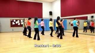 New Shade of Blue - Line Dance (Dance & Teach in English & 中文)