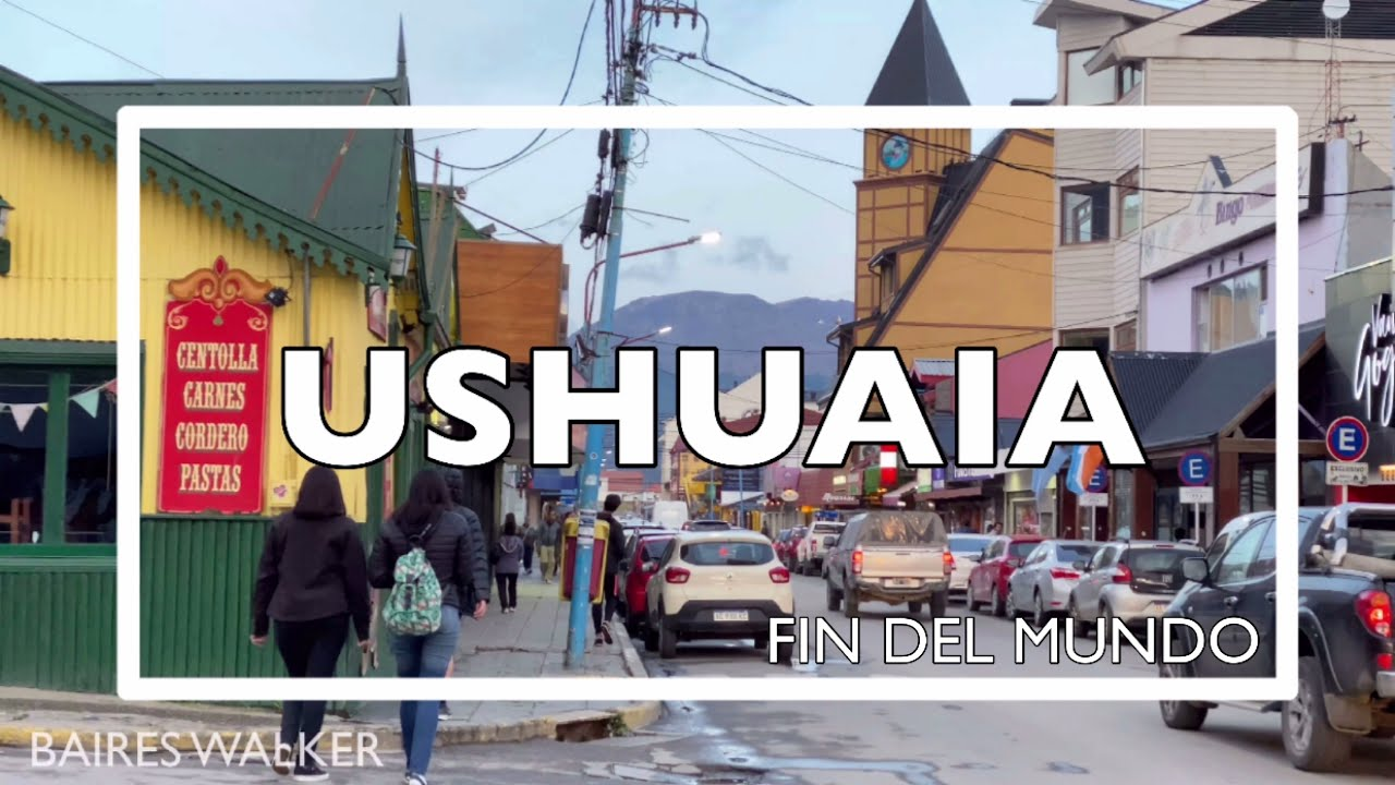 Download Walking in Ushuaia ( Sunset ) - Tierra del Fuego - Argentina