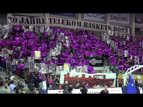 20 Jahre Telekom Baskets Bonn - Die Choreo der Fans - 22.03.2015