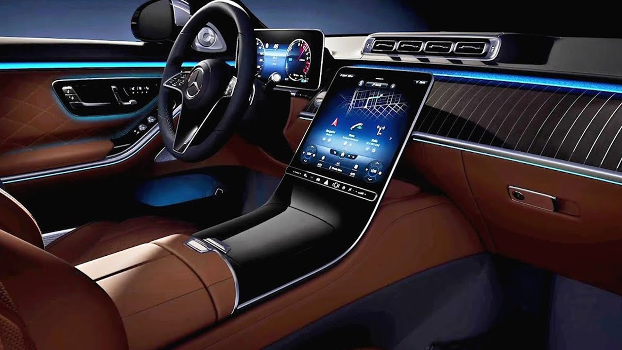 2021 Mercedes S-Class INTERIOR / Extremely Luxurious Large ...