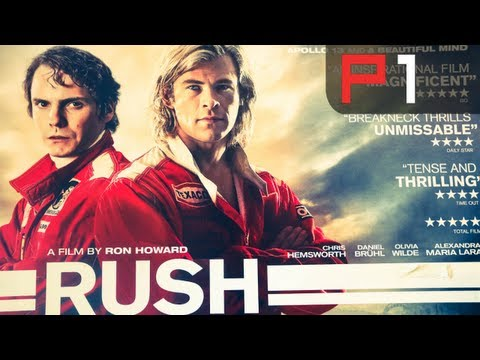RUSH EXCLUSIVE - Behind the scenes with F1 drivers