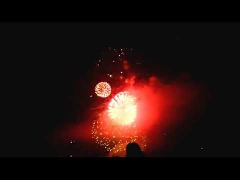 Burlington Vermont Fireworks 2013