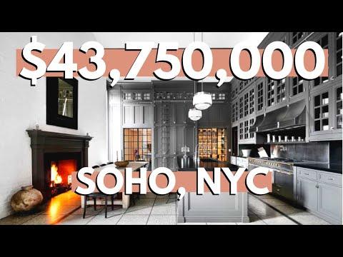 Inside a $43,750,000 SoHo New York City Penthouse