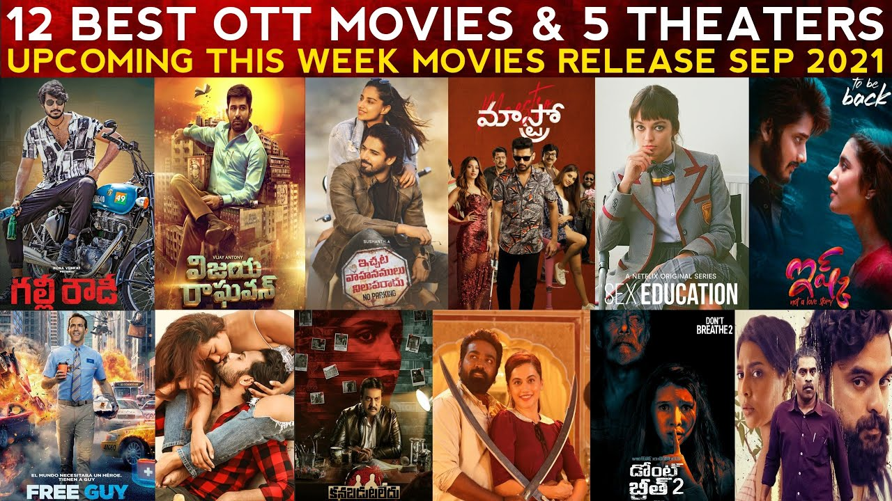 Download This Week Release OTT and Theaters New Telugu Movies   Upcoming Telugu Movies Release On Sept 2021