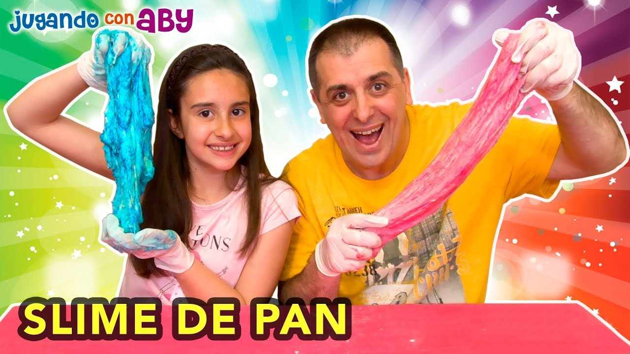 Slime Comestible De Pan Bread Color Challenge Youtube
