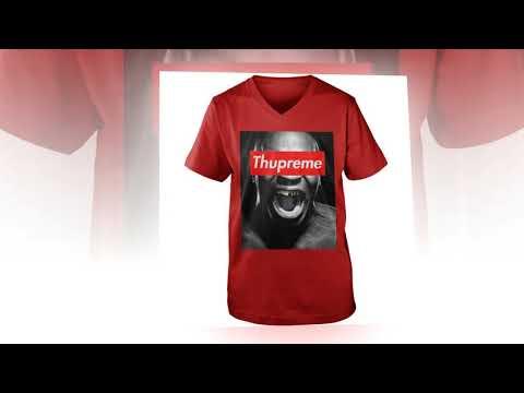 Cute Mike Tyson Thupreme shirt, hoodie, v-neck tee