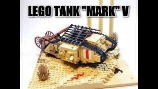 LEGO WWI tank