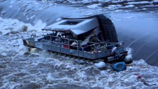 Boat goes over the Dam!! Gets Destroyed!