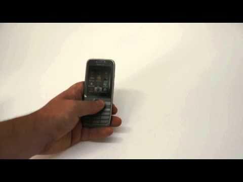 Nokia E52 demo