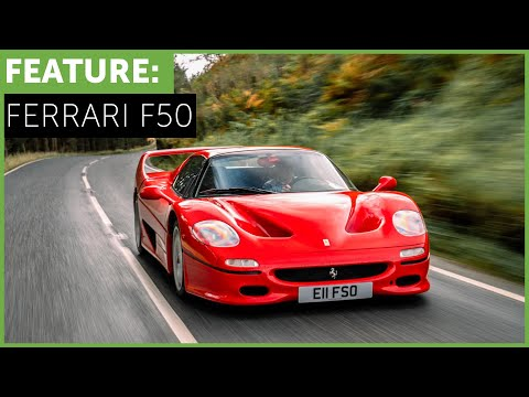 Ferrari F50 with Tiff Needell - The Story of an Icon