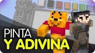 Minecraft - ¡Pinta y Adivina! Pokemon Edition