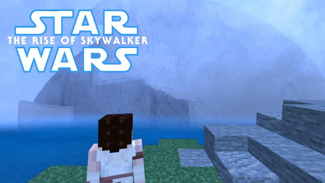 Starwars The Rise Of Skywalker Teaser In Minecraft Youtube