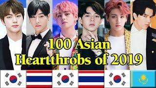 100 ASIAN HEARTTHROBS of 2019