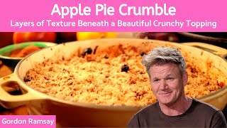Gordon Ramsay Apple Crumble