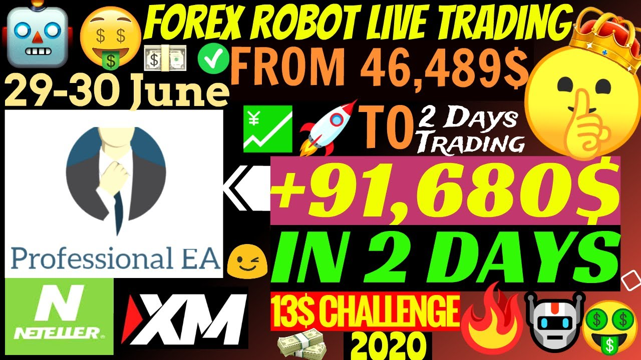 📈 Forex Robot Live EA Makes Account Grow To +91,680$ In 2 Days!!!🤑 | Professional EA