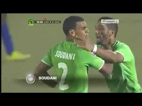 CHAN 2011: Gabon 2-2 Algérie [HD]  08-02-11