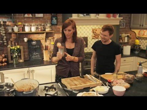 Kip in jagersaus de keuken van sofie vtm koken youtube for De keuken van sofie pizza