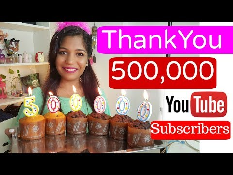 500,000 Subscribers Live Celebration With you All SuperPrincessjo