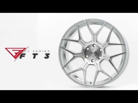 FT Series FT3 | Machine Silver | Ferrada Wheels