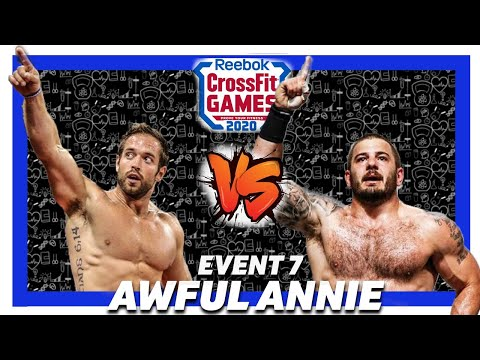 ��mat Fraser Vs Rich Froning Crossfit Games 2020 �� Mat Fraser Awful Annie...