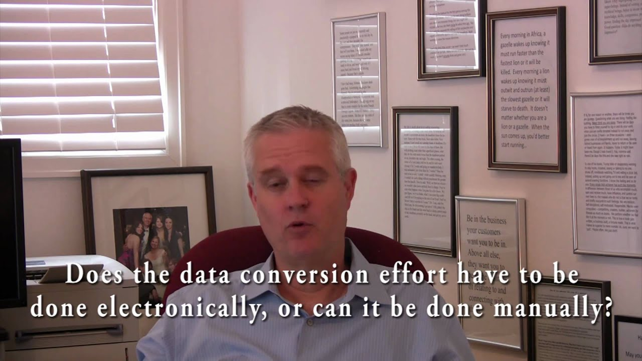 Yardi Voyager Help and Tips Manual vs Electronic Data Conversion