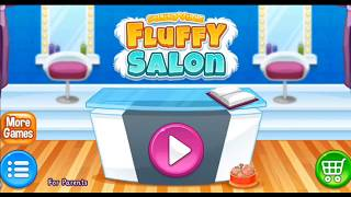 Sunnyville Fluffy Salon - Wash, Cut and Style the Animals - Sunstorm Game for Kids - Fun care game