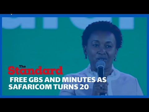 Safaricom offers free Talk time and Internet as it turns 20