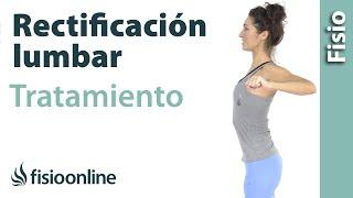 Rectificacion lumbar - Tratamiento con ejercicios y estiramientos