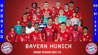 BAYERN MUNICH FC SQUAD 2021 22 UPDATED Bundesliga Confirmed Dayot Upamecano