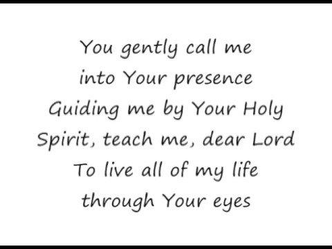 The Potter's Hand - Darlene Zschech [lyrics]
