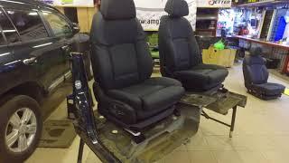 Подготовка сидений BMW для отправки в регион