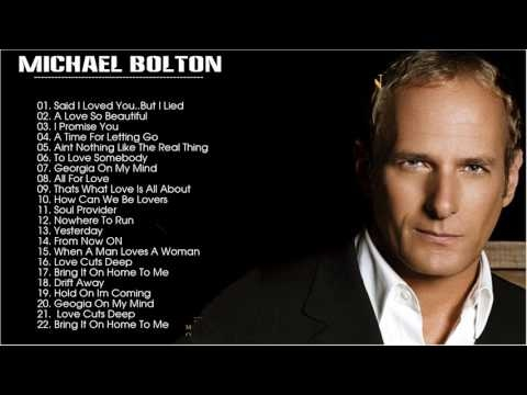Best Of michael bolton- michael bolton Greatest Hits Full