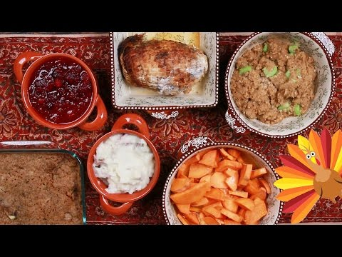 Big Rig - Thanksgiving Dinner In  A Microwave!