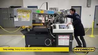 S-23a - Horizontal Pivot Style Band Saw From Hydmech