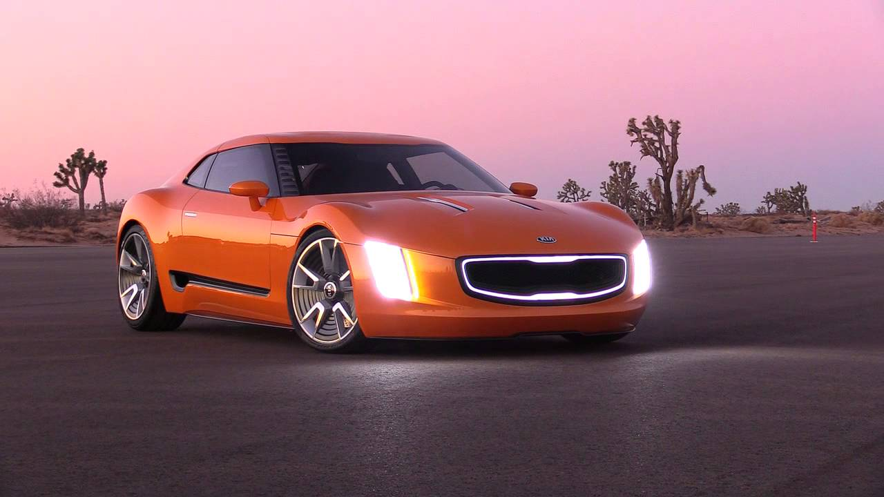 Kia Gt4 Stinger Concept B Roll Video Youtube