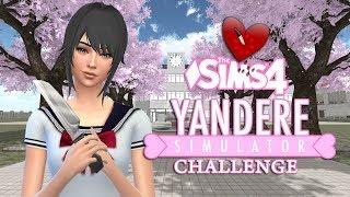 The Sims 4 ♥️ Yandere Simulator Challenge ♥️ • Postaci, parcele i zasady wyzwania • ♥️ [Odc.1]