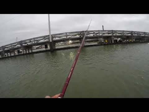 Fishing Galveston , TX , Fishing Flounder And Red Fish Part 2